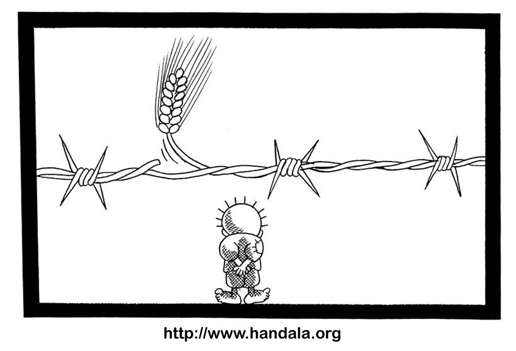 Cartoon barbed wire